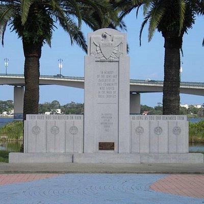 Veterans Memorial at Riverfront Park in Daytona Beach