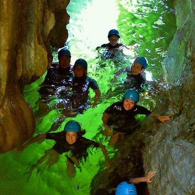 canyoning puerto banus