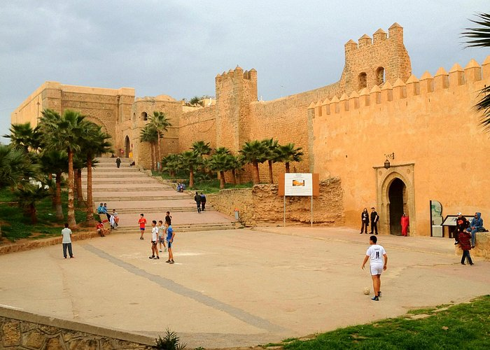 Outside the Kasbah