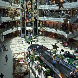 City mall in ramadan