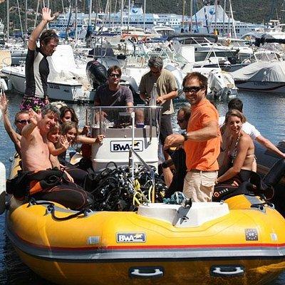 bateau porto-vecchio plongée