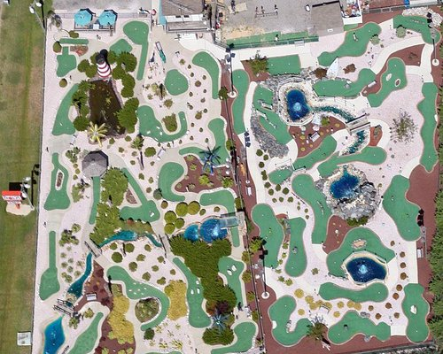SurfSide Golf from outer space !
