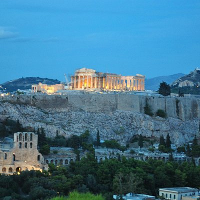the amazing Parthenon