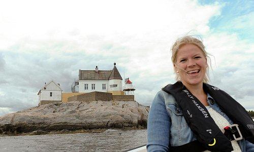 Saltholmen Fyr i Syd Norge