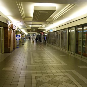 The Path - one of the many underground walkways
