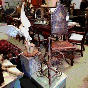 Antiques Curio & salvage barn...1000 sq foot warehouse full of curiosities