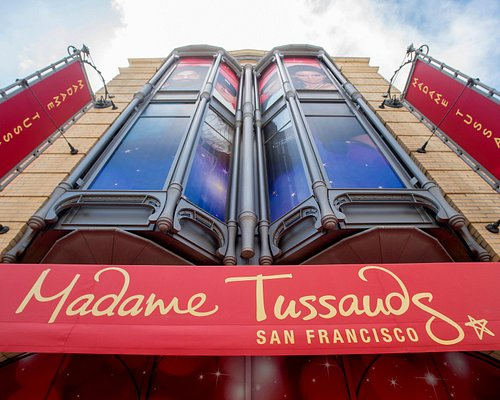 Front of Madame Tussauds