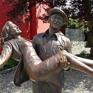 Quiet Man Statue in Cong
