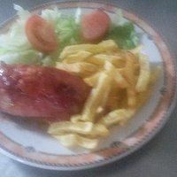codillo asado,estilo alemán