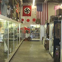 The Museum not only has U.S. Military items, but German, Japanese, Korean, and Vietnamese items