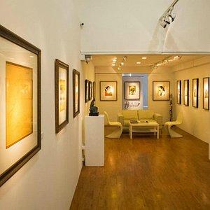 Indigo Blue Art Gallery Space