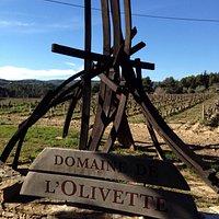 Entrée du Domaine de L'olivette