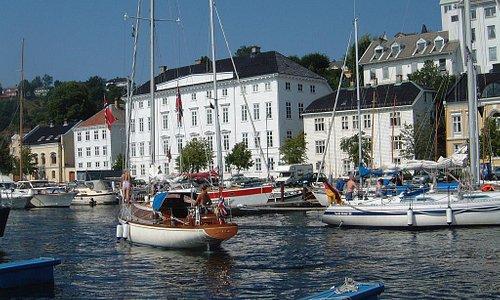 Arendal harbour. Photo: Eirik Mykland