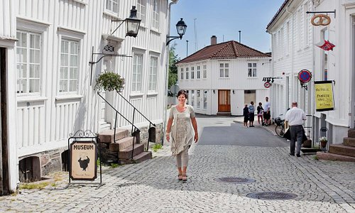 The streets of Grimstad