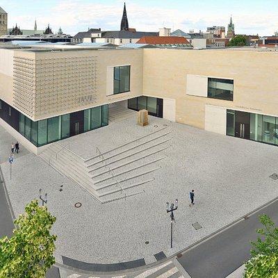 Der Neubau vom Aegidimarkt aus. Foto: LWL / EDK