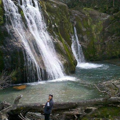 Cascada Ñivinco en todo su esplendor