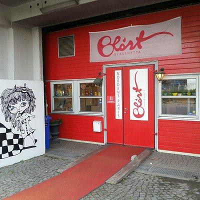 Entrance. Photo: June Åsheim / Blåst Nordens Paris, 2014.