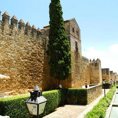 Mauer der ehemaligen jüdischen Viertel