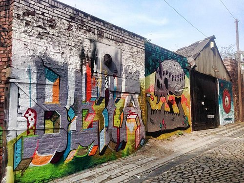 Zap Graffiti, Oldham Place: An every changing graffiti gallery & studio in the city of Liverpool