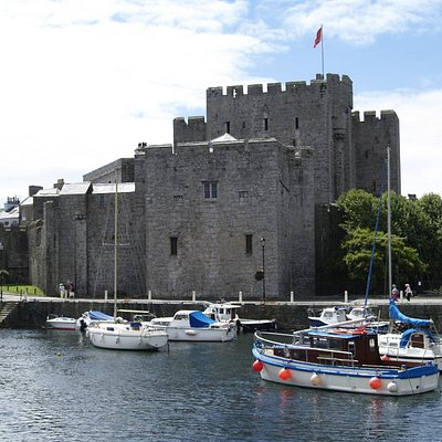 The Castle dominates the town