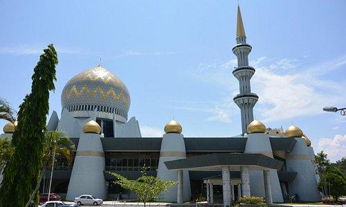 サバ州立モスクの一部です。