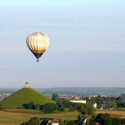 Vol au champagne au-dessus du Brabant