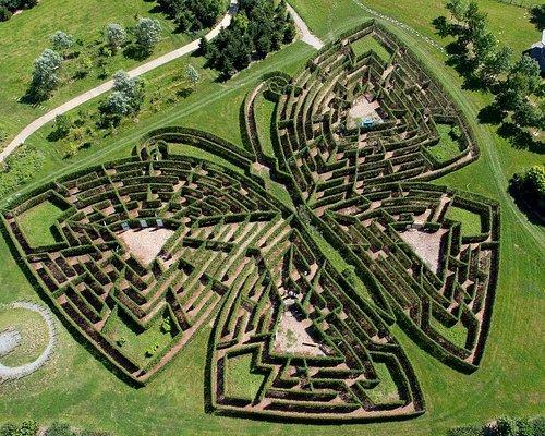 Labyrinthe géant - ©Labyrinthus/Route des Labyrinthes - ©MichelBlot.com