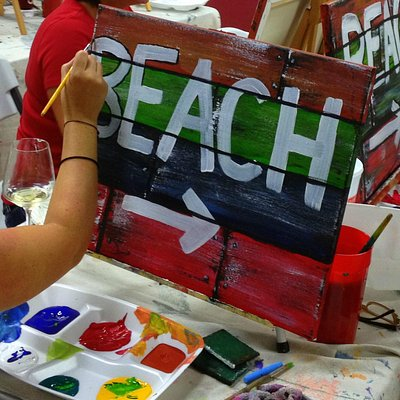 You're here! Let's make memories painting!