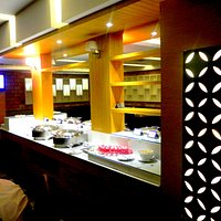 Food Corner of the restaurant