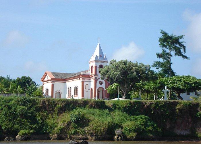 Igreja Católica no centro da cidade