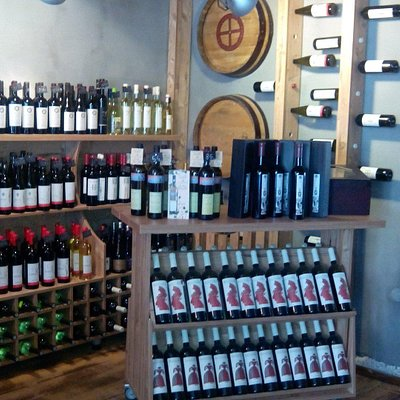 A very good wine shop.
