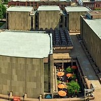 Confederation Centre of the Arts takes up an entire city block - so much to explore!