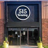 515 Brewing Front Door