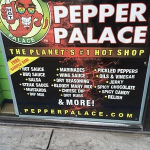 Awesome, a must visit for hot sauce fans!!