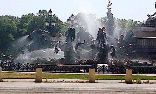 Girondins fountain