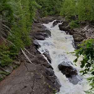 Ragged Falls, July 24, 2014