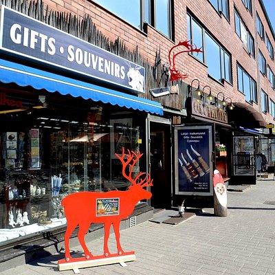 Gift shop Aarnivalkea