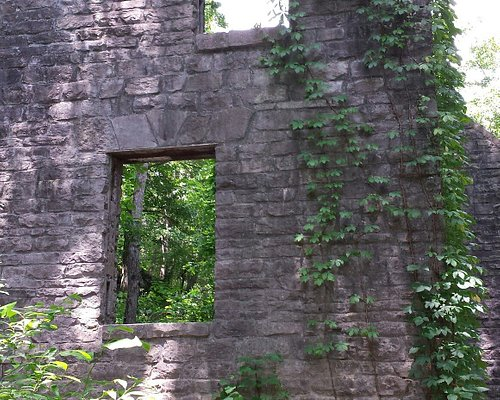 What is left of the Old mitchell mill