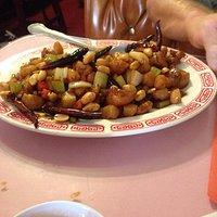 Kung pow chicken, delicious