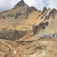 La gare à 4800m