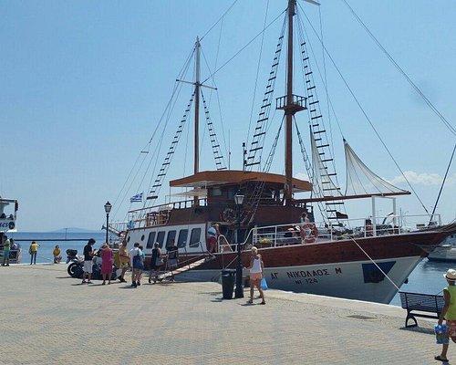 First boat of Pantelis