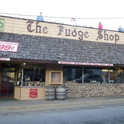 The Fudge Shop Downtown Branson