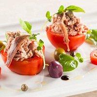 Tomate recheada com Atum a Moda Provençal...