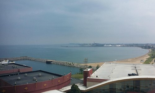 Lake Michigan view from room