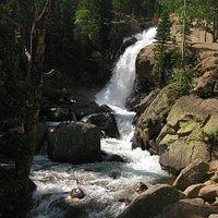 Alberta Falls in RMNP