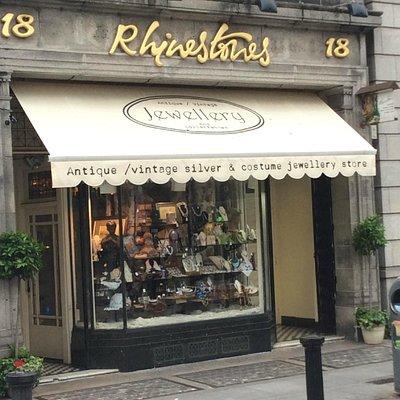 Rhinestones- Dublin 2014 shopfront