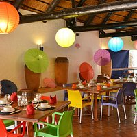 Nam Took is a colourful, bright and welcoming casual restaurant