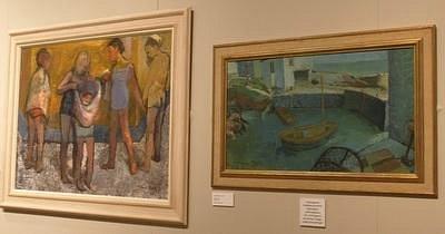 "Part of the ""Glasgow Girls 1920-1960"" exhibit"