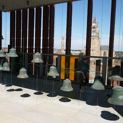 The bells on the top floor