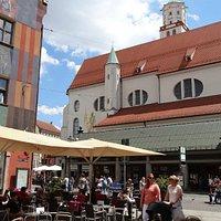 Chiesa di St. Moritz ad Augsburg.